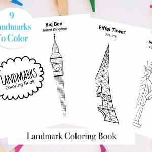 Landmark Coloring Book