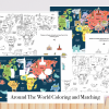 World Map Coloring and Matching